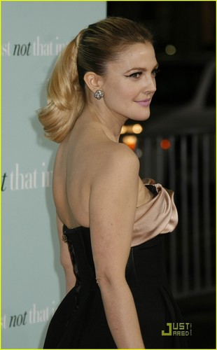 Drew Barrymore @ He's Just Not That Into toi Premiere