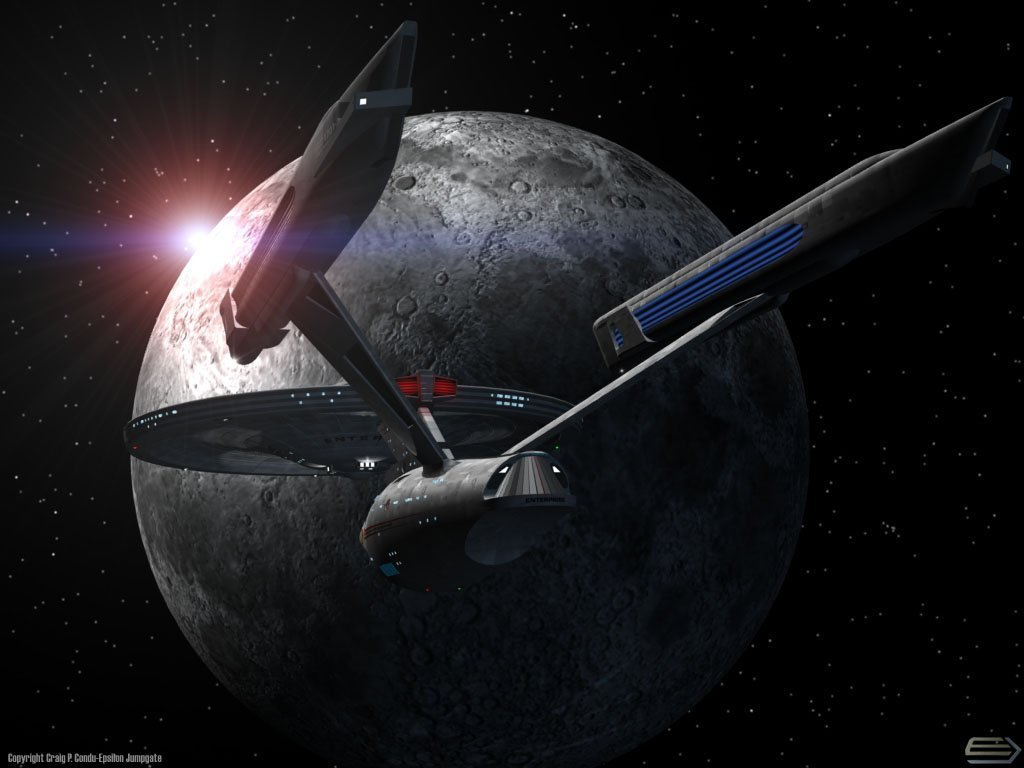 Enterprise A Star Trek The Original Series Wallpaper