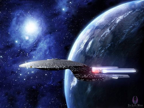 Enterprise d star trek the next generation wallpaper