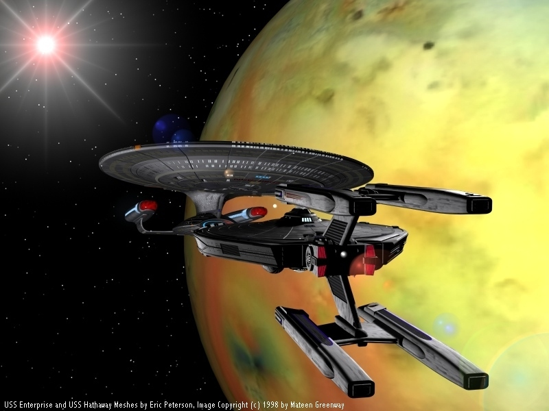 Star trek the next generation enterprise d