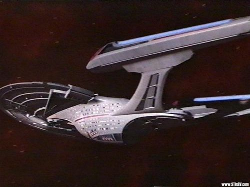 Star Trek-The Next Generation wallpaper entitled Enterprise-E