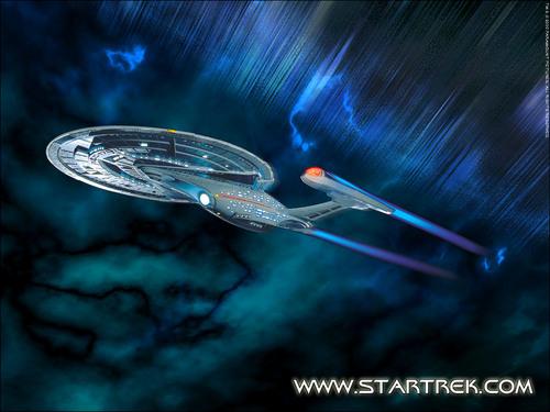 bintang Trek-The seterusnya Generation kertas dinding entitled Enterprise-E