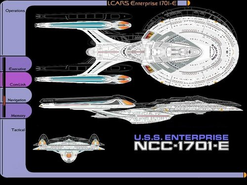 Enterprise Schematic - star-trek-the-next-generation Wallpaper