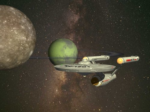 Enterprise on Patrol