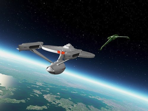 Star Trek: The Original Series wallpaper possibly containing a helicopter called Enterprise