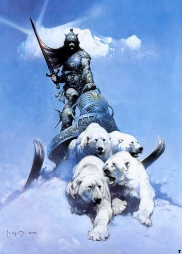 幻想 Art- Frank Frazetta (some nudity)