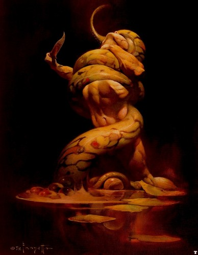 ndoto Art- Frank Frazetta (some nudity)