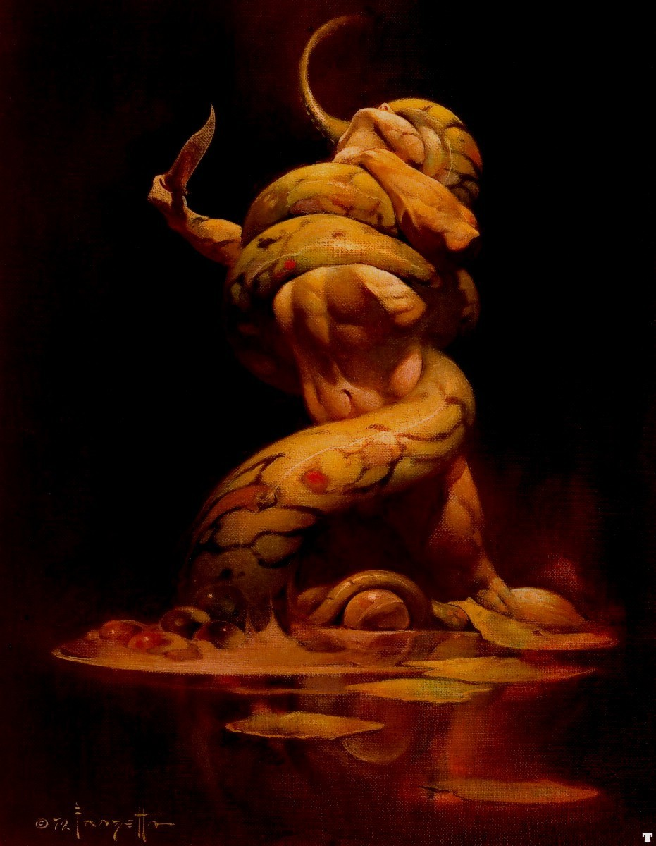 fantasía Art- Frank Frazetta (some nudity)