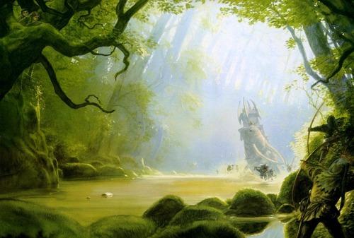 fantasi Art- John Howe