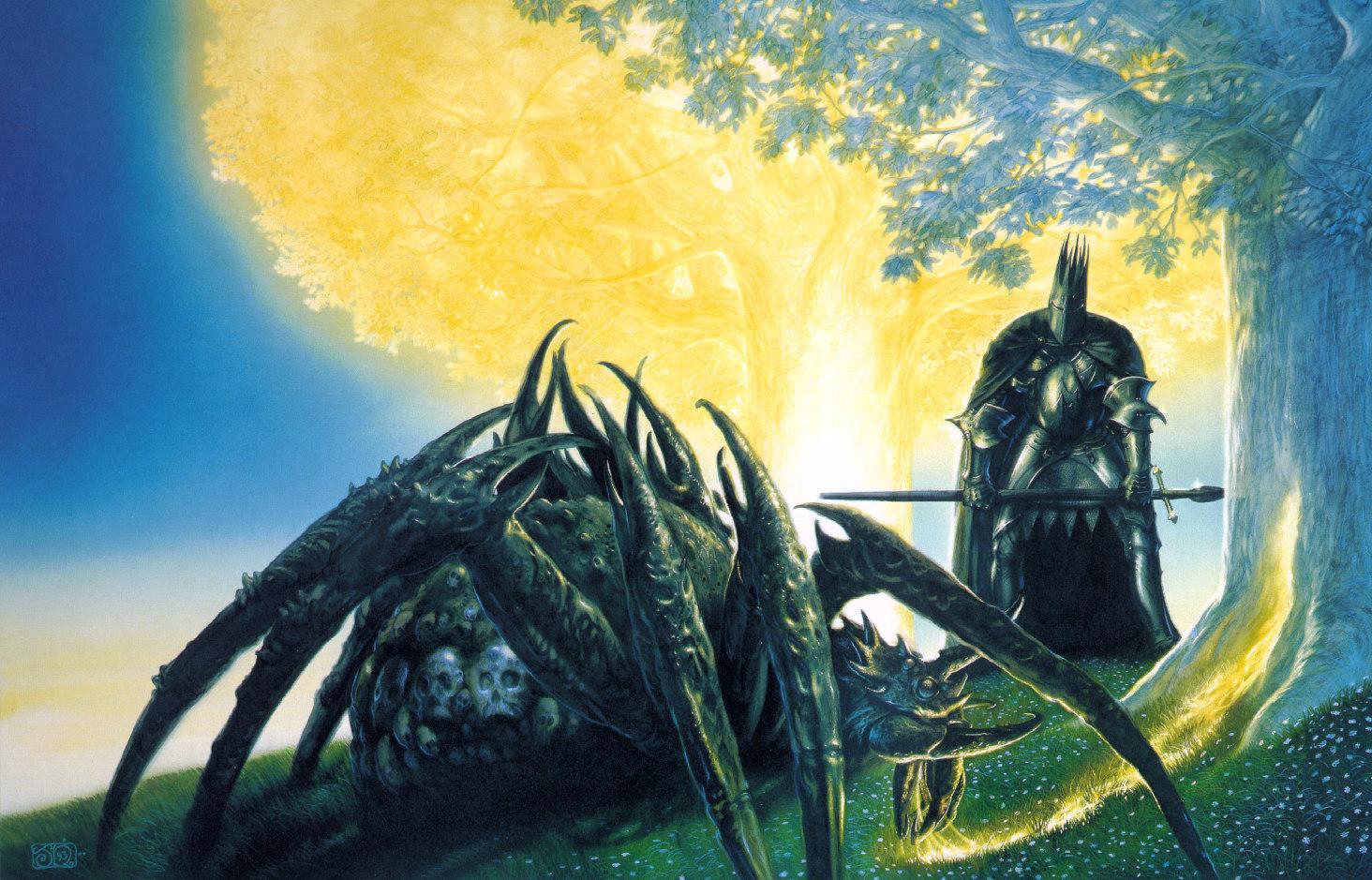 John Howe (grand illustrateur de Tolkien) Fantasy-Art-John-Howe-fantasy-3987418-1464-939