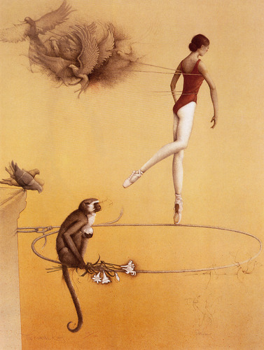 fantasia Art- Michael Parkes (some nudity)