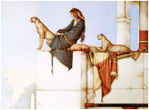 कल्पना Art- Michael Parkes (some nudity)