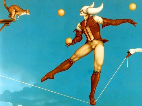 fantasi Art- Michael Parkes (some nudity)