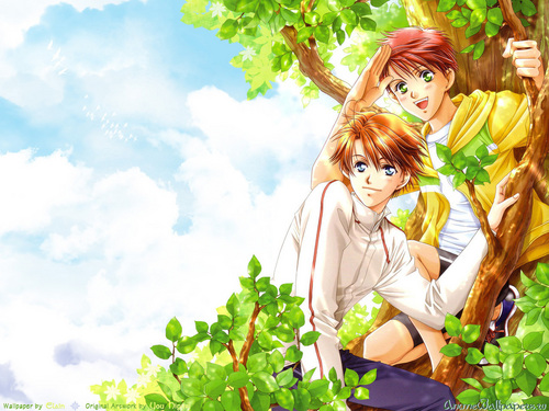 Yaoi images Gakuen Heaven HD wallpaper and background photos