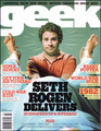 Geek Magazine Cover - seth-rogen photo