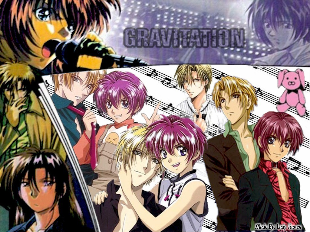 Gravitation - Yaoi Wallpaper (3975205) - Fanpop