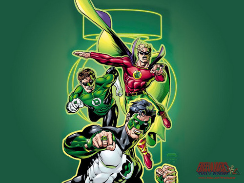 Dc Comics Wallpaper With Anime Called Green Lantern