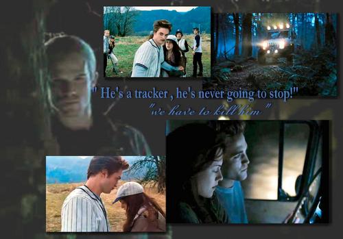 He's a tracker