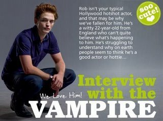 Interview whit the vampire
