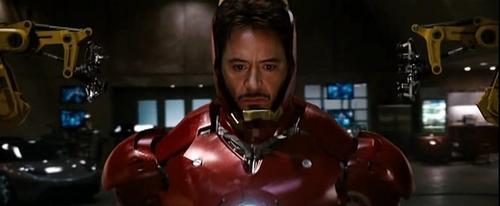 Роберт Дауни-младший Обои entitled Iron Man Screencaps