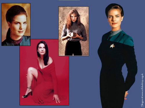 estrella Trek: Deep el espacio Nine fondo de pantalla probably with a well dressed person and a portrait entitled Jadzia Dax