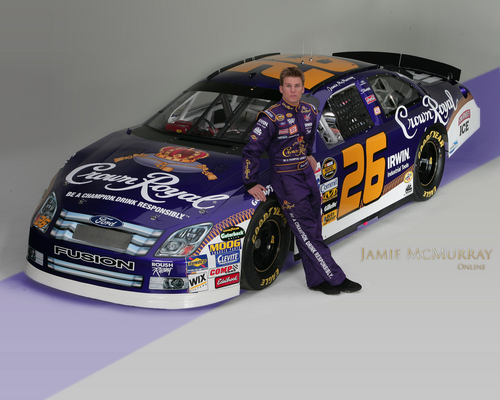 Jamie McMurray - nascar Wallpaper