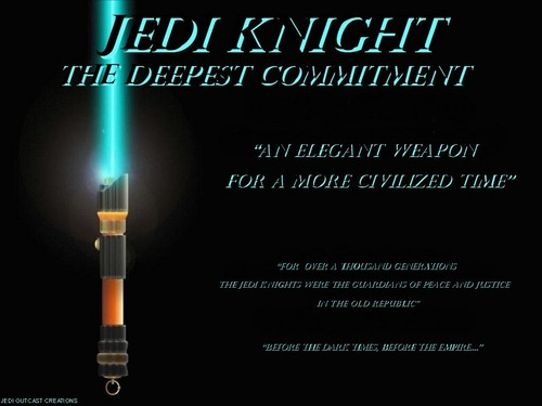 Star Wars wallpaper entitled Jedi Knight : The Deepest Commitment