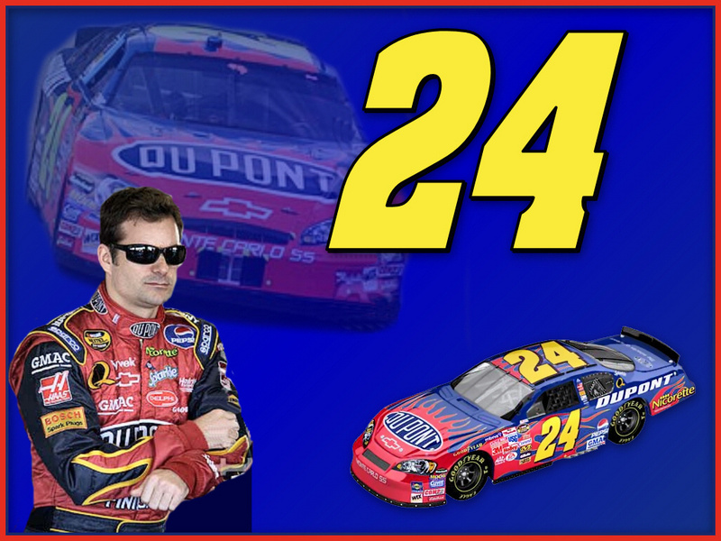 free nascar wallpaper. Jeff Gordon - NASCAR Wallpaper