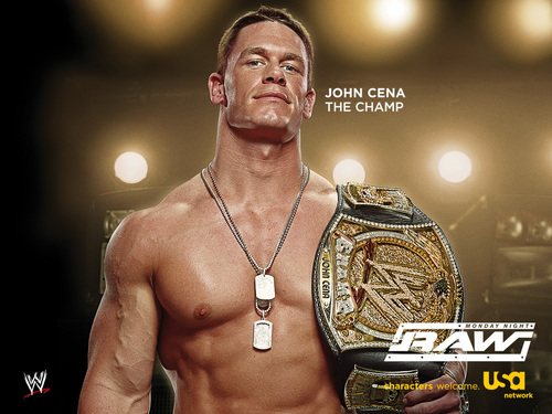 Professional Wrestling wallpaper called John Cena - WWE Champion