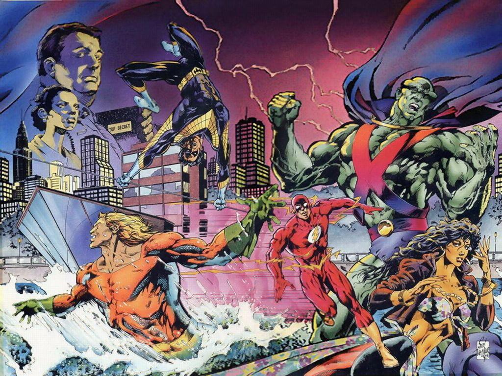 Dc Comics Justice League : Justice dc comics
