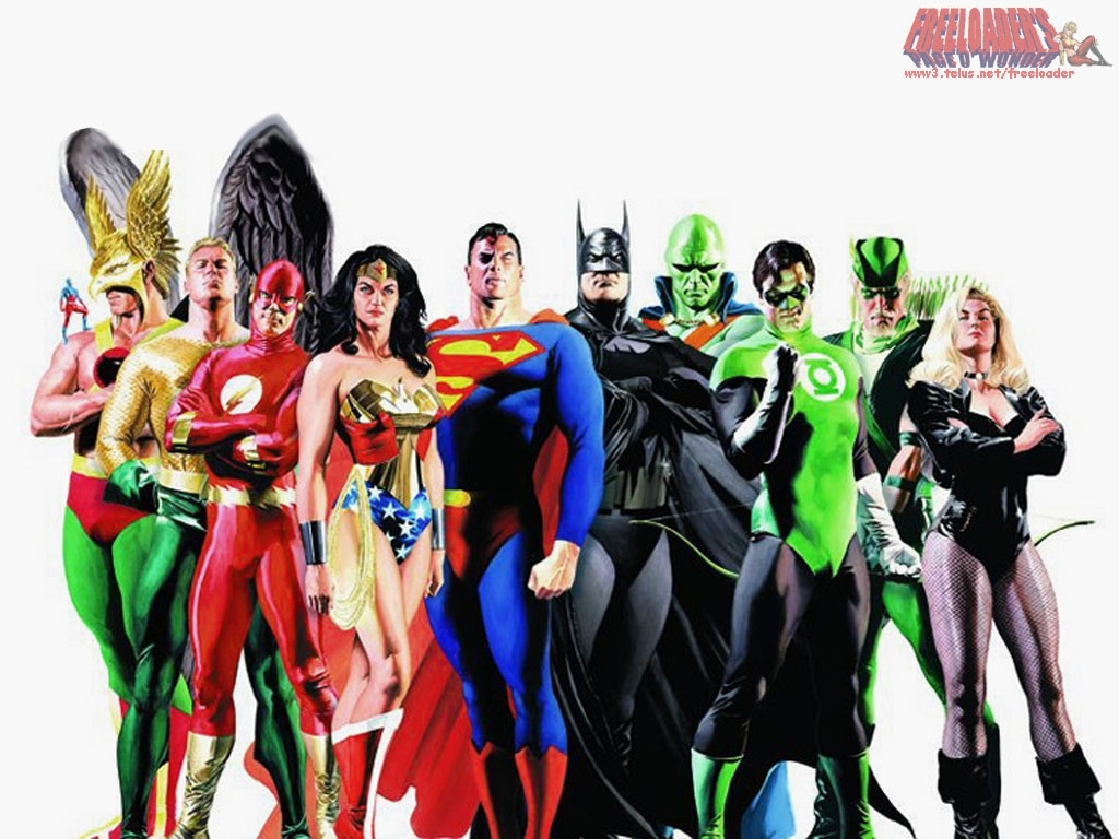 Justice League - DC Comics Wallpaper (3975666) - Fanpop fanclubs