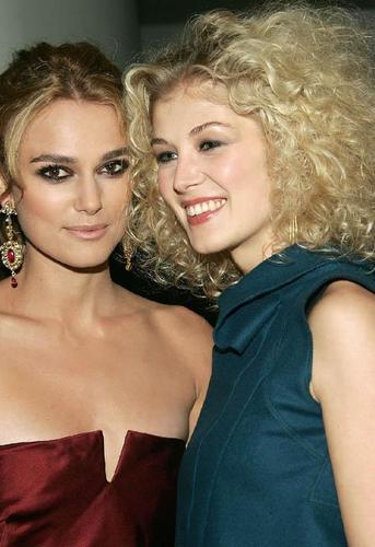 Keira and Rosamund Premiere