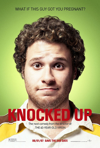 Seth Rogen Hintergrund probably with a portrait titled Knocked Up Poster