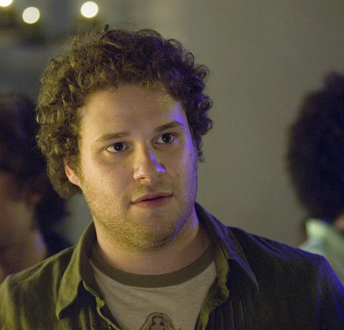 Seth Rogen Hintergrund entitled Knocked Up