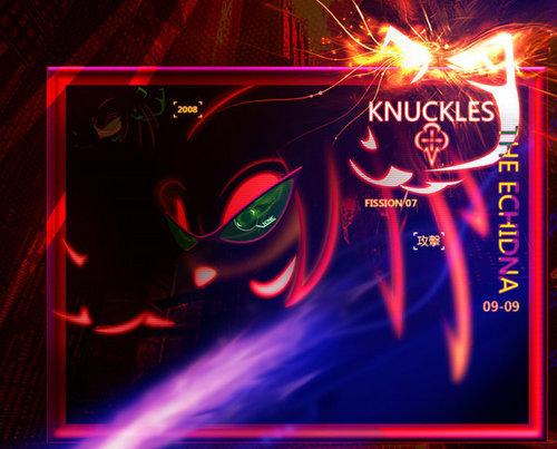 Knuckles the Echidna-SEGA