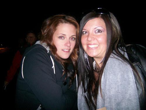 Kristen & fans