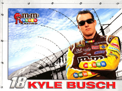 NASCAR wallpaper entitled Kyle Busch