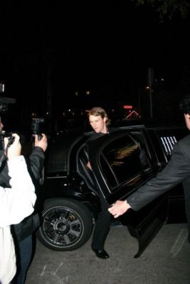 Leaving the château Marmont after the SAG Awards - 2009. 01. 25.