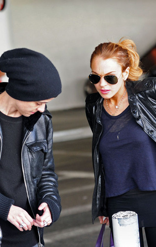 Lindsay & Sam @ LAX
