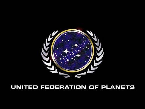 nyota Trek: Deep Space Nine karatasi la kupamba ukuta called Logo