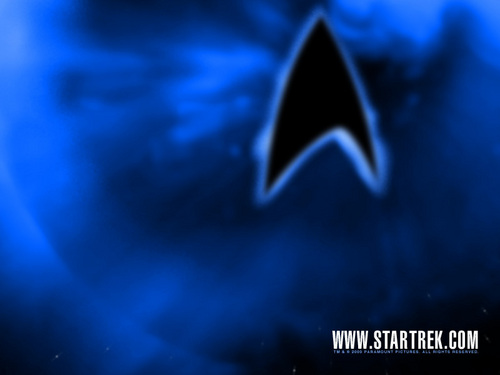 Star Trek-The Next Generation wallpaper called Logo