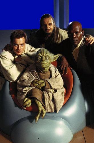 Mace Windu,Obi Wan,Yoda and Qui gon Jinn