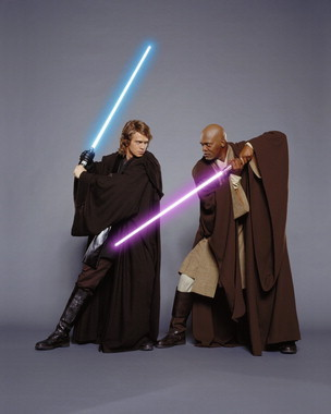 Mace Windu and Anakin