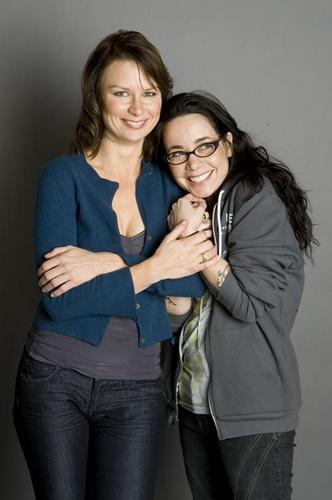 Mary Lynn Rajskub and Janeane Garofalo