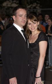 Matthew with his wife