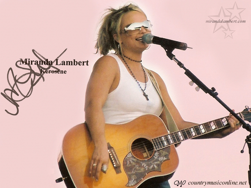 Miranda Lambert wallpaper probably containing a guitarist titled Miranda Lambert