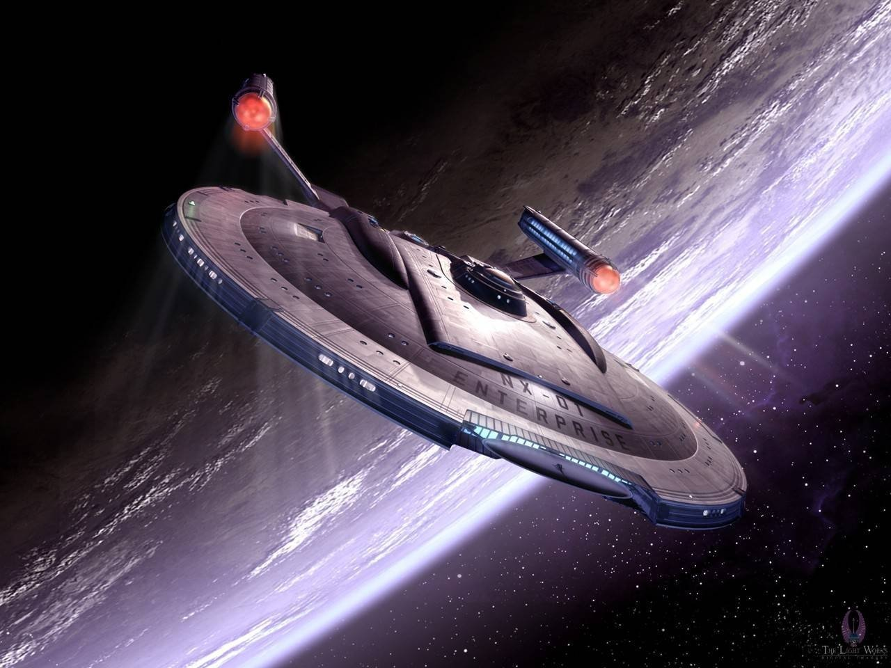 Nx 01 Enterprise Star Trek Enterprise Wallpaper 3999077