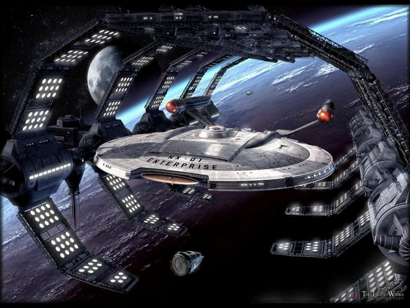star trek enterprise wallpaper. NX-01 Enterprise - Star Trek