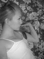 Natalie - glitter photo