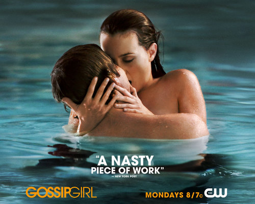 sikat na halik wolpeyper possibly containing a bather and skin called Nate Blair making out